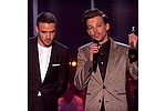 One Direction stars stage mini-reunion at Brit Awards - One Direction stars Louis Tomlinson and Liam Payne had a mini-reunion on the Brit Awards red carpet …