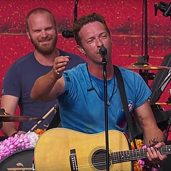 Coldplay channeling Glastonbury for Super Bowl performance