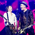 Paul McCartney joined on stage by Krist Novoselic - Paul McCartney was joined onstage last night (17/4) in Seattle, on the third night of his new One …