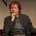 Paul McCartney and PETA US Most Vegan-Friendly City in the US - Presenting a bouquet of roses carved from vegetables, Paul McCartney and PETA US Vice President Dan …