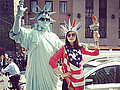 Victoria Justice For All! 'Victorious' Star Explains Patriotic Pic - Victoria Justice wears many hats. She's an actress, singer and ... Statue of Liberty impersonator? …