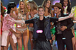 Justin Bieber, Rihanna Mingle With Angels At Victoria's Secret Show - What do you get when you combine skimpy lingerie, sexy models and three fashionable pop stars? …
